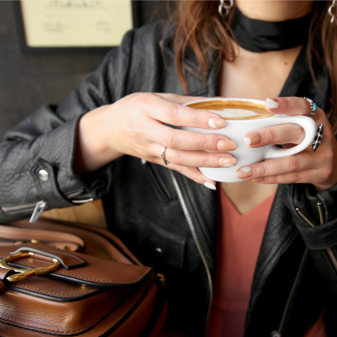 National Coffee Day Nail Tutorial | Sally Hansen Mani