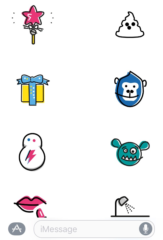 beauty emojis, fun imessage stickers, best emojis, girl emojis, makeup emojis, beaumojis, beautemojis, sephojis, lush beauty stickers, l'oreal paris stickers, fun imessage apps, beauty messaging apps
