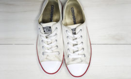 how to clean converse, how to clean white converse, how to clean white sneakers, white sneakers, taking care of white sneakers, my white converse are dirty, my white sneakers are dirty, cleaning white sneakers, best way to clean white sneakers, mr clean magic eraser on shoes, how to clean white shoes, my white shoes are dirty, diy shoe cleaning, diy clothing cleaning, cleaning converse sneakers