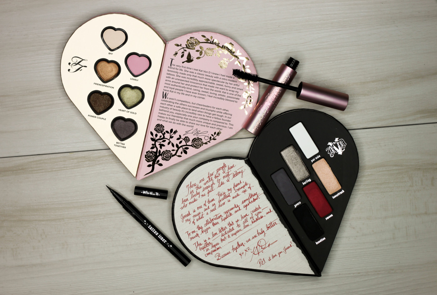 Too Faced x Kat Von D Better Together Collection (Review + Swatches)