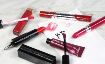 kissable lipsticks, best lipsticks, what lipstick should i get, valentine's day lipstick, prettiest lipsticks, long wear lipstick, valentine's day makeup, covergirl outlast all-day intense lips, l'oreal paris infallible lip paint, chanel rouge coco lip gloss, givenchy rouge interdit lipstick, revlon ultra hd gel lipcolor, new lisptick 2017, new makeup spring 2017