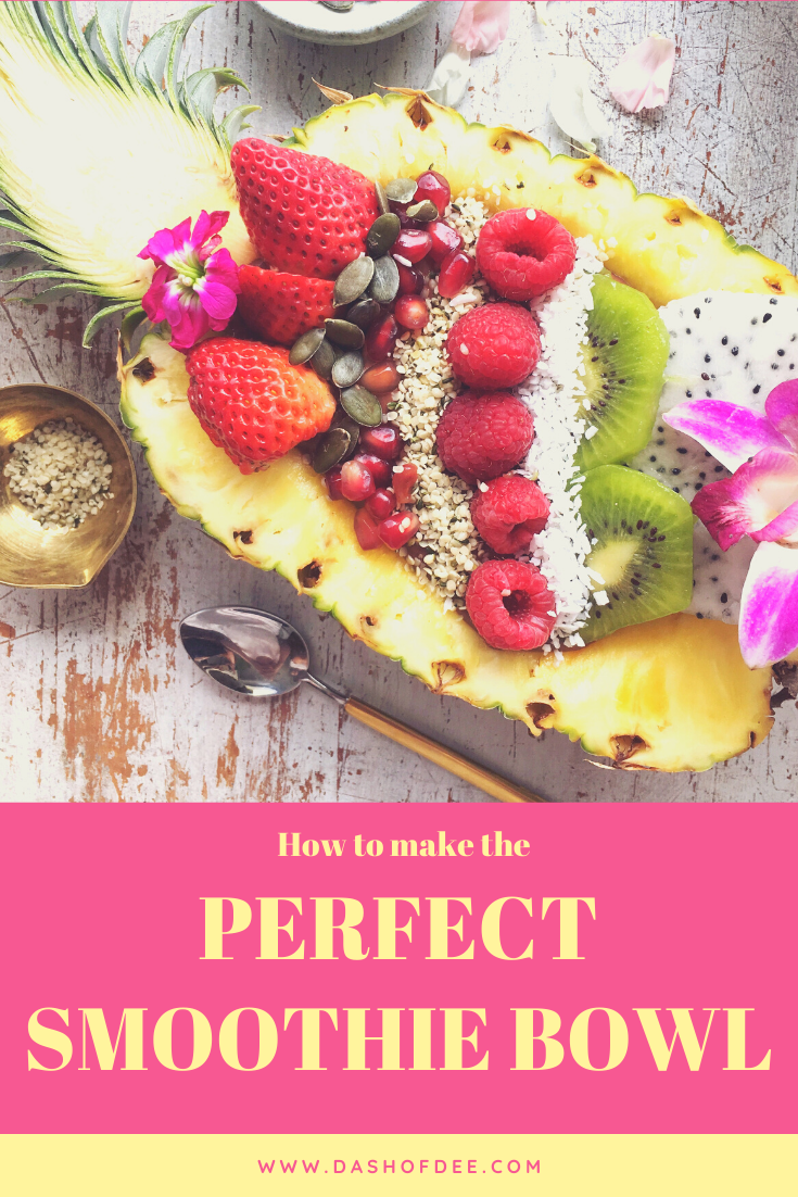 perfect smoothie bowl recipe