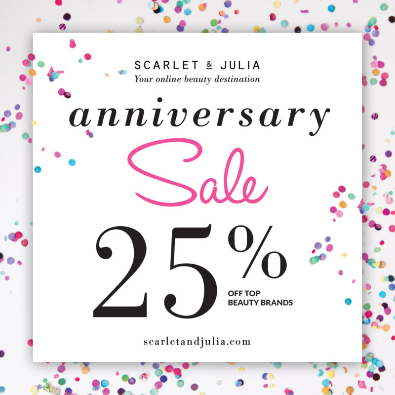 scarlet and julia, scarlet & julia, scarlet & julia promo code, beauty store, online beauty store, online beauty store canada