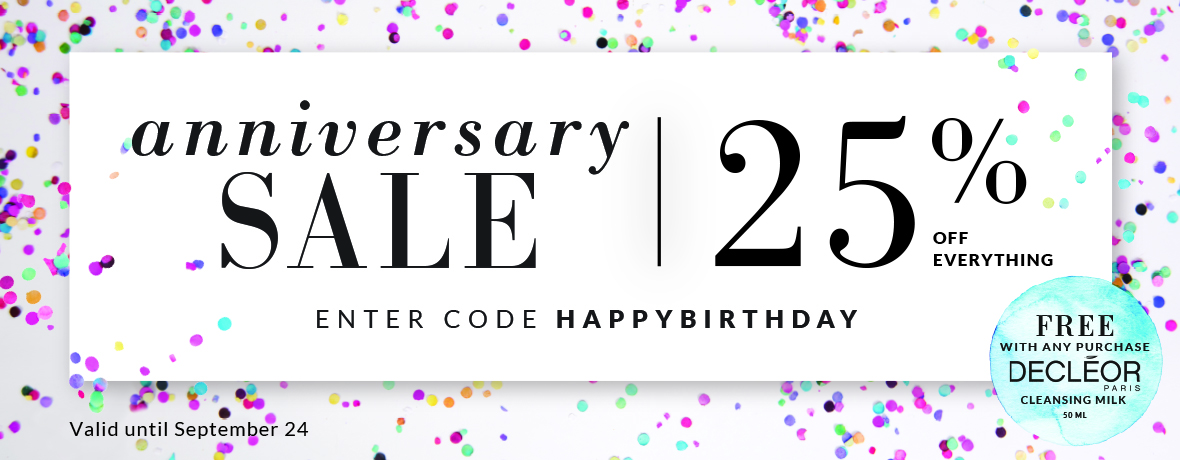 Scarlet & Julia 3rd Birthday Sale