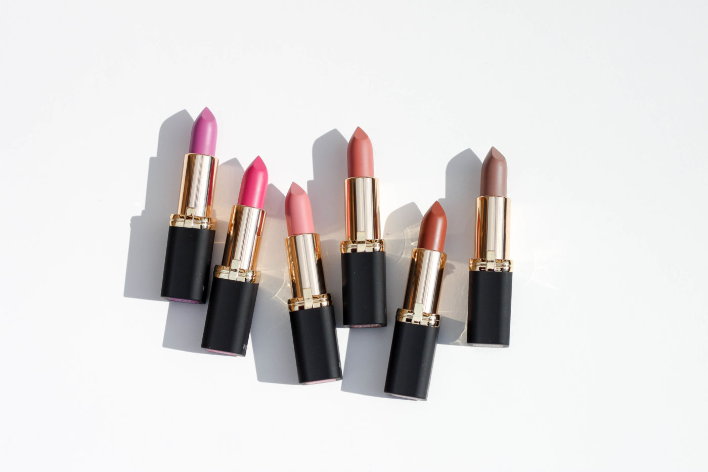 l'oreal paris colour riche matte lipstick, matte lipstick, matte drugstore lipstick, best matte lipsticks, new matte l'oreal lipstick, l'oreal matte lipstick shades, l'oreal matte lipstick swatches, best matte lisptick swatches, l'oreal colour riche matte swatches, matte-ly in love swatch, devil's matte-vocate swatch, matte-traction red, doesn't matte-r, matte-moiselle pink, matte-jestic, at the drop of the matte, matte-mandate, matte-caron, matte-sterpiece, he thinks he's matte-cho, matte-itude, matte red lipstick, matte pink lipstick, matte nude lipstick