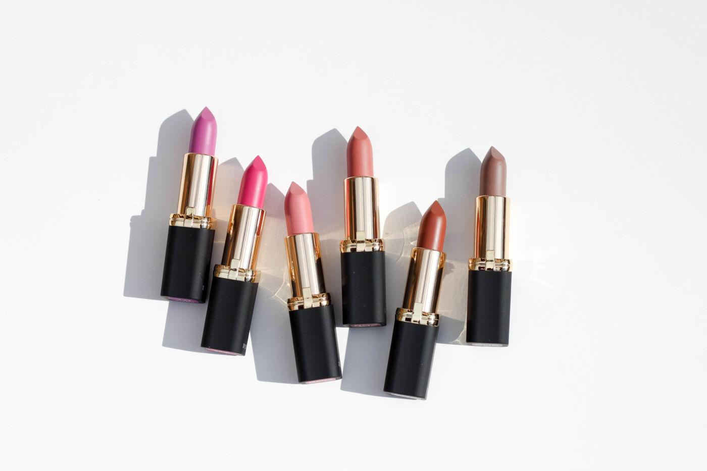 l'oreal paris colour riche matte lipstick, matte lipstick, matte drugstore lipstick, best matte lipsticks, new matte l'oreal lipstick, l'oreal matte lipstick shades, l'oreal matte lipstick swatches, best matte lisptick swatches, l'oreal colour riche matte swatches, matte-ly in love swatch, devil's matte-vocate swatch, matte-traction red, doesn't matte-r, matte-moiselle pink, matte-jestic, at the drop of the matte, matte-mandate, matte-caron, matte-sterpiece, he thinks he's matte-cho, matte-itude, matte red lipstick, matte pink lipstick, matte nude lipstick
