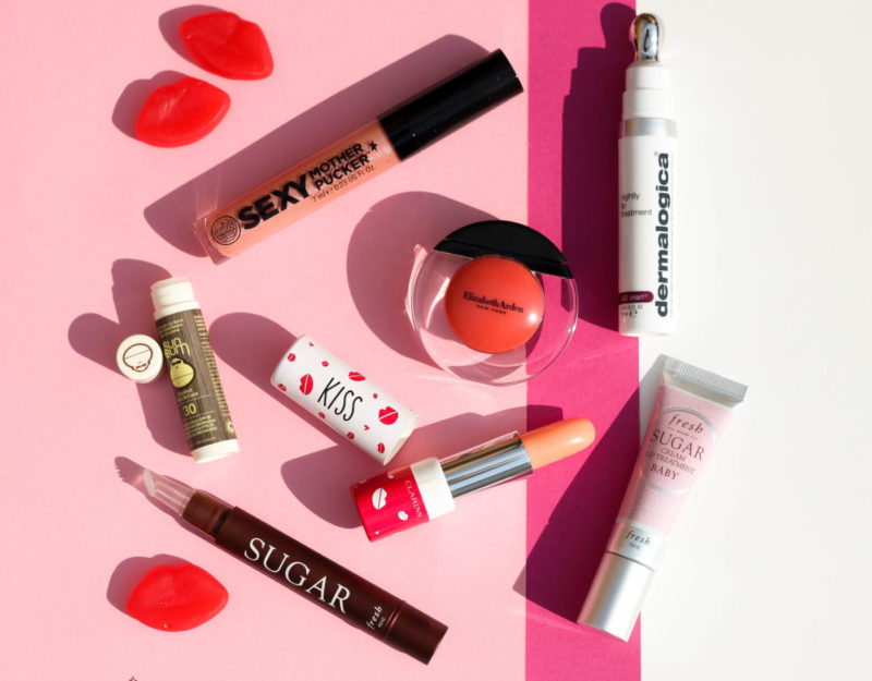 perfect lip products, lip products, best product for healthy lips, best product for soft lips, soap & glory sexy mother pucker, clarins daily energizer lovely lip balm, clarins joli baume, dermalogica nightly lip treatment, lip treatments, fresh sugar baby cream lip treatment, elizabeth arden sheer kiss lip oil, sun bum coconut sunscreen lip balm, fresh sugar lip treatment perfecting wand