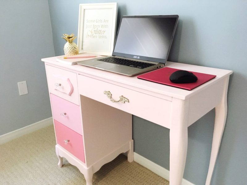 How To Paint An Old Desk Diy Furniture