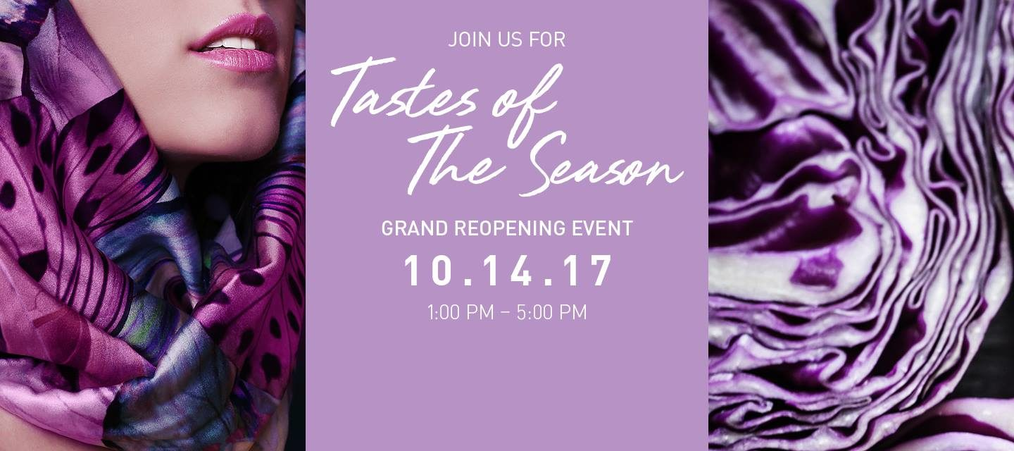Oakville Place Grand Reopening – Tastes of the Seasons Event Oct 14