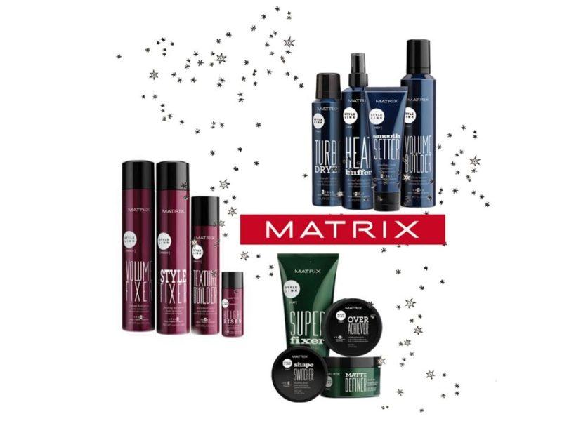 matrix haircare, matrix hairspray, salon hairspray, hair product for volume, texture hair spray, hair volume powder, how to get holiday ready hair