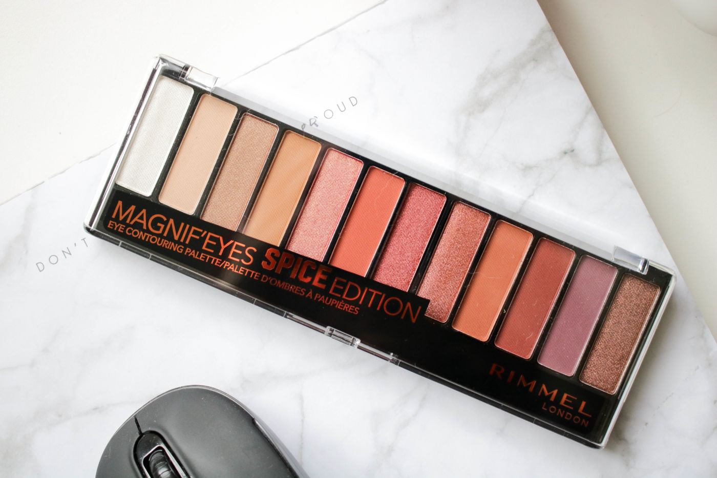 Rimmel Magnif'eyes Spice Edition Palette Review + Swatches