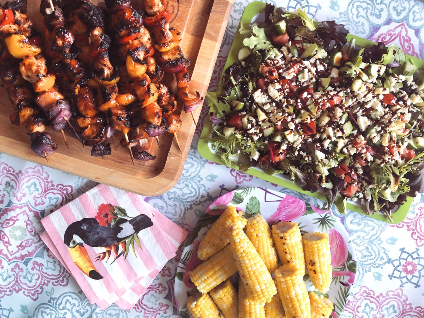 food options for summer entertaining