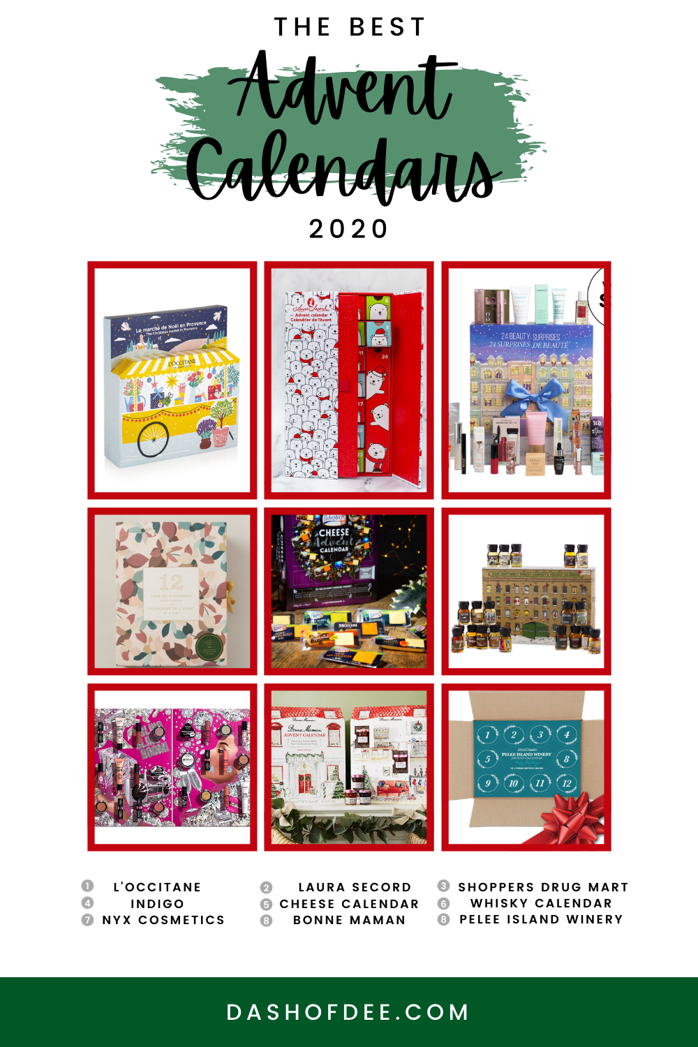 The Best Advent Calendars of 2020 Canada