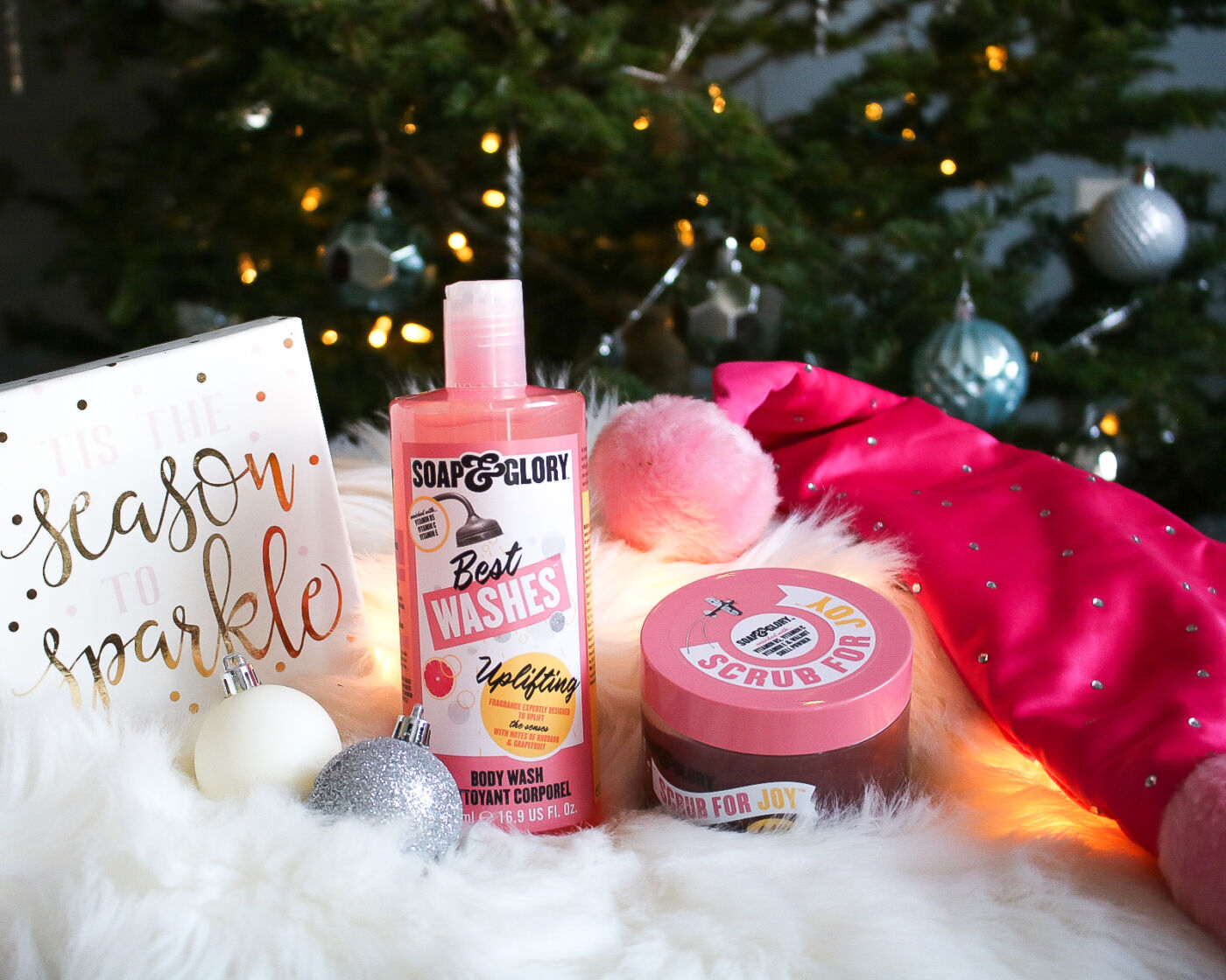soap & glory best washes, scrub for joy holiday products
